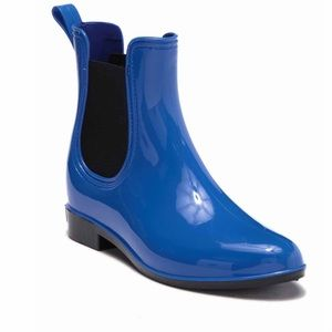Seven7 Rain Boots Blue NEW
